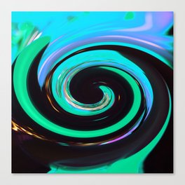 Swirling colors 02 Canvas Print