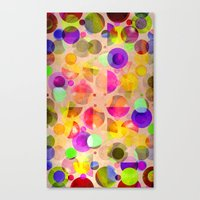 candy Canvas Prints featuring Candy by SensualPatterns