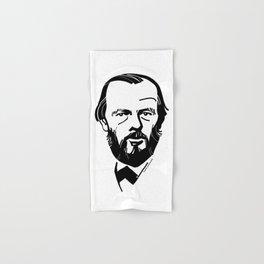Fyodor Dostoevsky Hand & Bath Towel