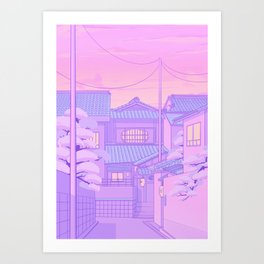 Kyoto Walk Kunstdrucke