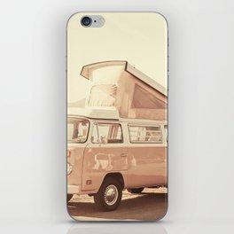 Vintage Van (Color) iPhone Skin