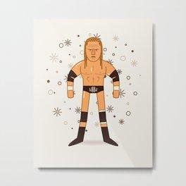 Triple H (Pro Wrestling Illustration) Metal Print