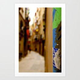 Boqueria Mercat Art Print