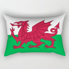 National flag of Wales - Authentic version Rectangular Pillow