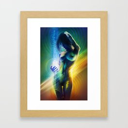 Prismatic Singularity Framed Art Print