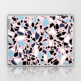 Terrazzo Spot Blues on Blush Laptop & iPad Skin