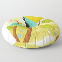 Early To Rise Floor Pillow