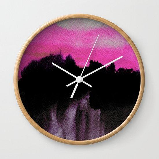 Deconstructed Horizon Wall Clock