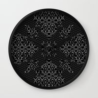 monty python Wall Clocks featuring Python Lace Fantasy by Octavia Soldani