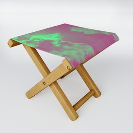 Radiant Clouds Folding Stool