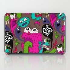 Cool Time Pattern iPad Case