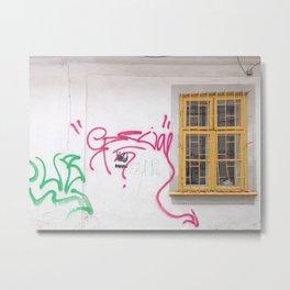 Cluj Graffiti #2 Metal Print
