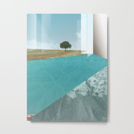 atmosphere 26 · Floodland Metal Print