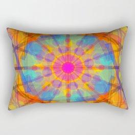 Entre círculos y líneas · Glojag Rectangular Pillow