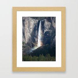 Bridalveil Falls, Yosemite California Framed Art Print