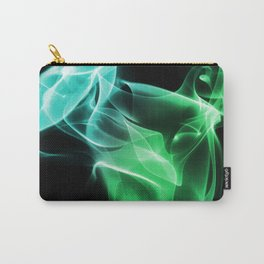 Smoke Green & blue Carry-All Pouch