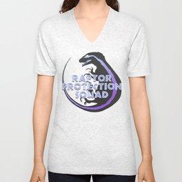 RPS (Raptor Protection Squad) - BLUE Unisex V-Neck
