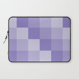 Four Shades of Lavender Square Laptop Sleeve