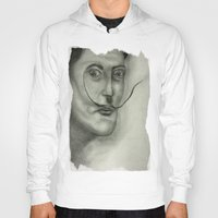 salvador dali Hoodies featuring Salvador Dali by Jennifer Lynn