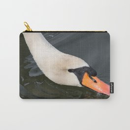 Mute Swan in Winter - Neck Skimming Carry-All Pouch