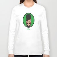 amy hamilton Long Sleeve T-shirts featuring Amy by Juliana Motzko