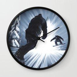 Friends II Wall Clock