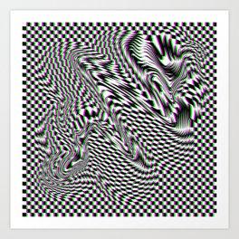 SERPENT'S ABYSS Art Print