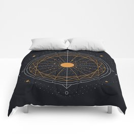 Order Out Of Chaos Comforters