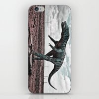 dino iPhone & iPod Skins featuring Dino by Nick Douillard