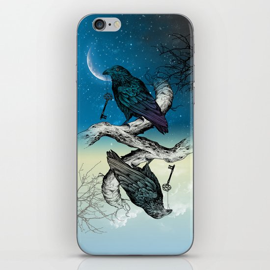 Raven's Key Night+Day iPhone & iPod Skin