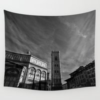 florence Wall Tapestries featuring Florence III by VanessaGF