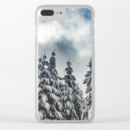 Forever Winter - 48/365 Clear iPhone Case