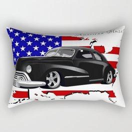 1948 Dodge Muscle Car Rectangular Pillow