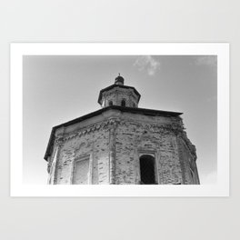 Ancient church Art Print