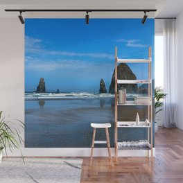 Haystack Rock Cannon Beach Wall Mural