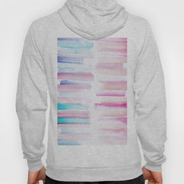 19 | 181101 Watercolour Palette Abstract Art | Lines | Stripes | Hoody