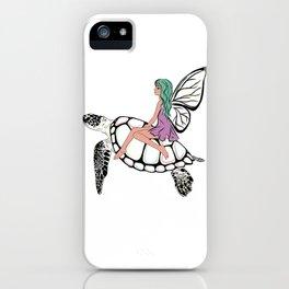 Fairy/ Turtle iPhone Case