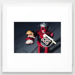 All Your Sushi Are Belong to US Framed Art Print