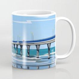 New Brighton Pier, Christchurch, NZ Coffee Mug