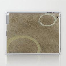 Two Circles - Modern Art - Abstract - Fine Art - California Cool - Popular Painterly Laptop & iPad Skin