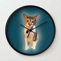 minnie Wall Clocks featuring minnie by lilacattack