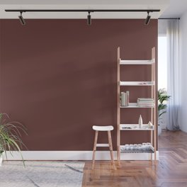 After Silence, Music ~ Reddish Brown Wall Mural
