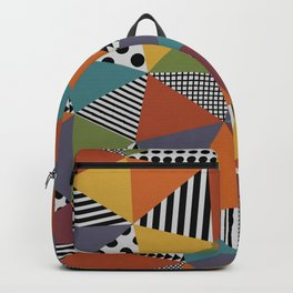 Colorful Geometry Backpack