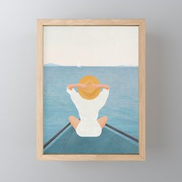 Summer Vacation I Framed Mini Art Print