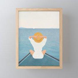 Summer Vacation I Framed Mini Art Print