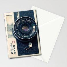 Film Camera Ricoh 500 G Stationery Cards
