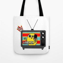 SEZ ME Broadcast Tote Bag