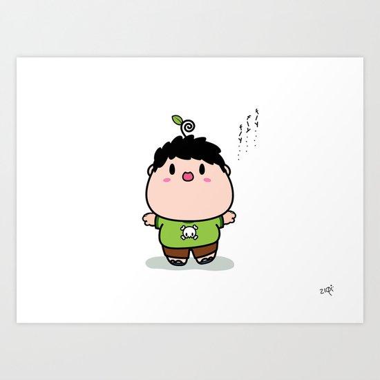 Nasu boy Art Print