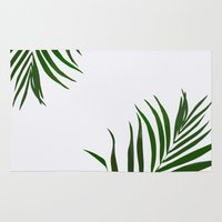 fern Area & Throw Rugs featuring Fern by Tamsin Lucie