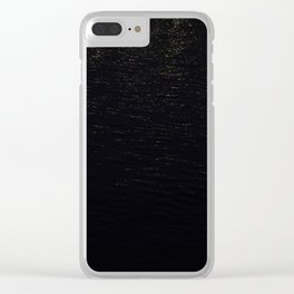 Water reflections Waterfront Clear iPhone Case